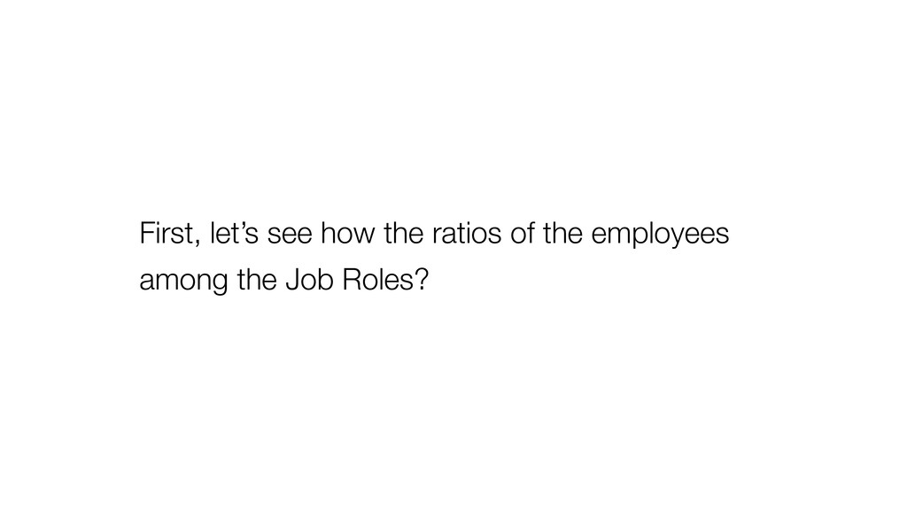 First, let's see how the ratios of the employee...