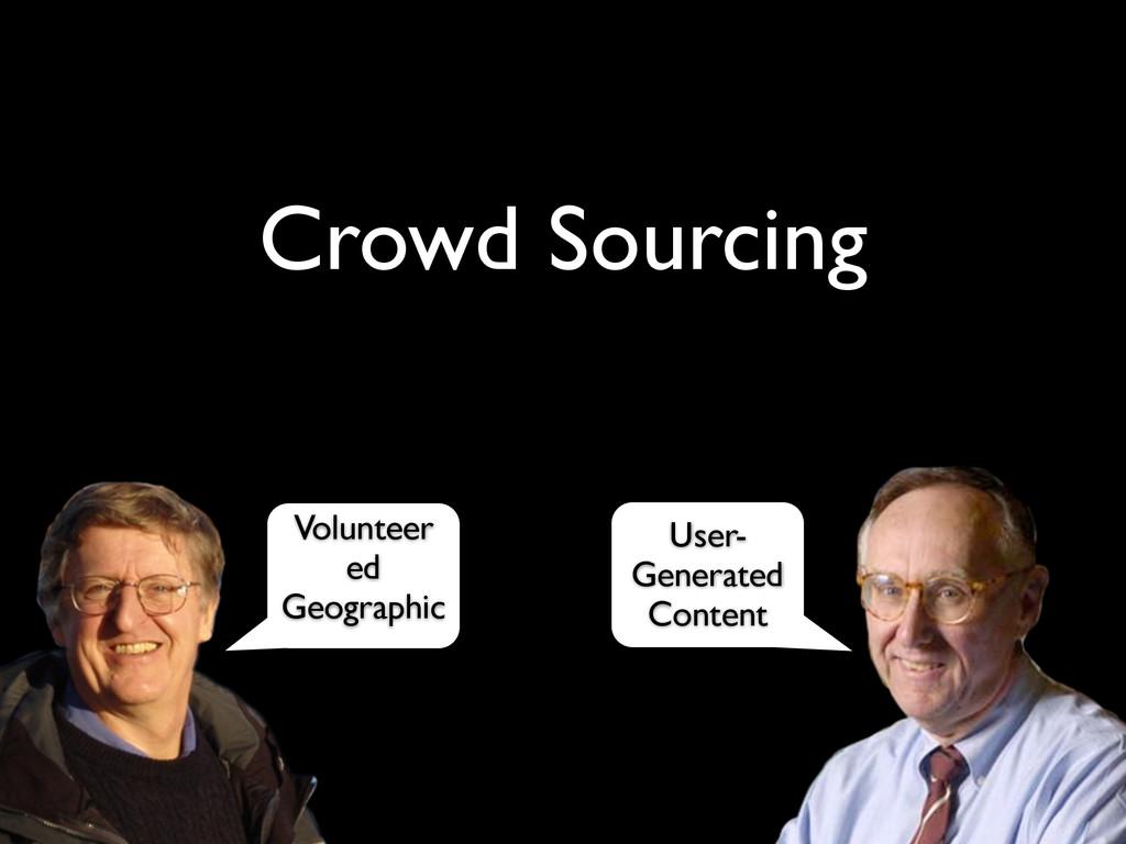 Crowd Sourcing Volunteer ed Geographic User- Ge...