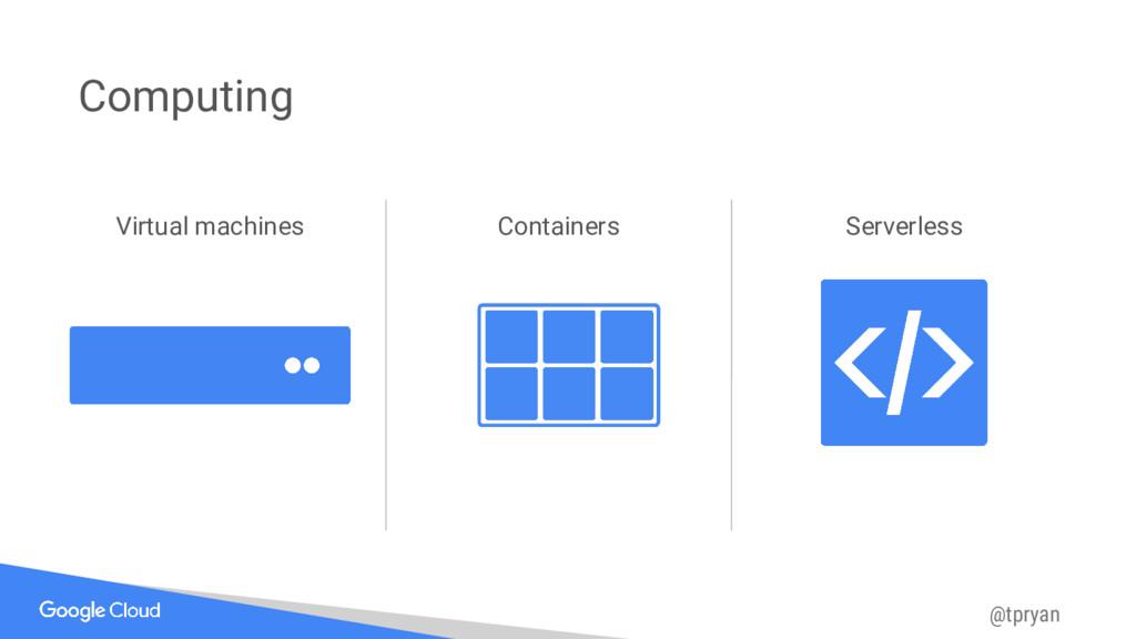 @tpryan Computing Virtual machines Containers S...