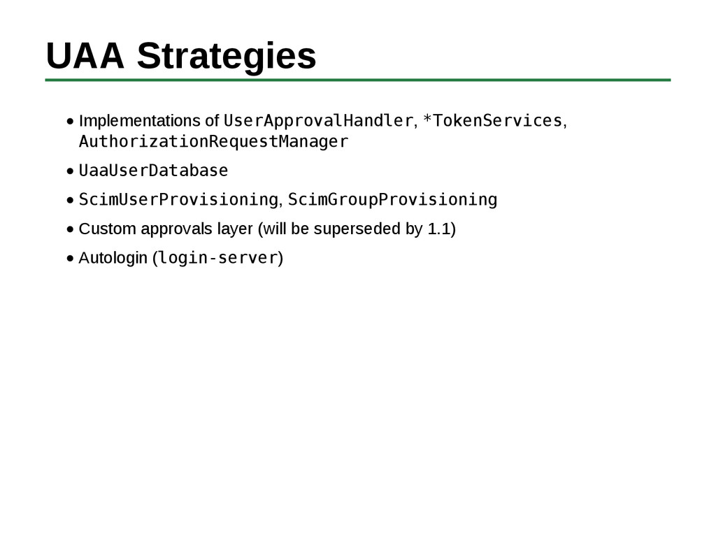 UAA Strategies Implementations of UserApprovalH...