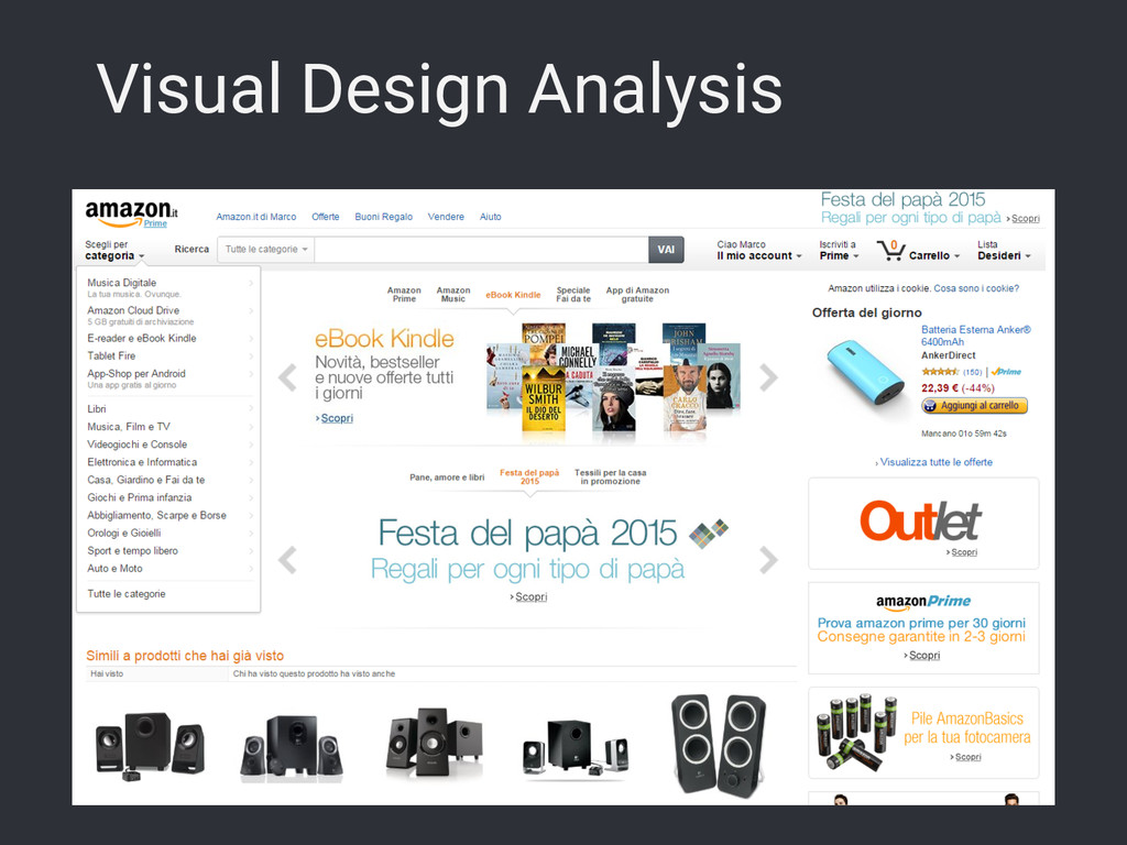 Visual Design Analysis
