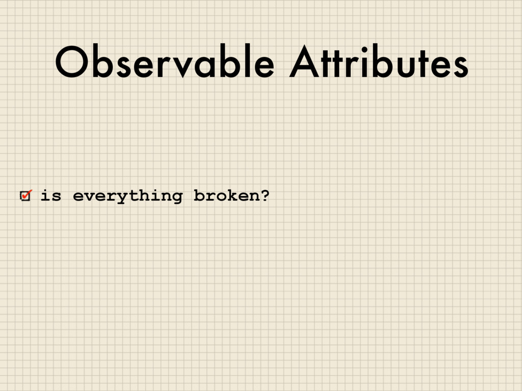 Observable Attributes is everything broken?