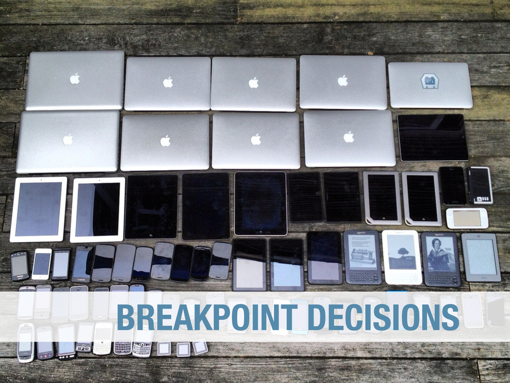 BREAKPOINT DECISIONS