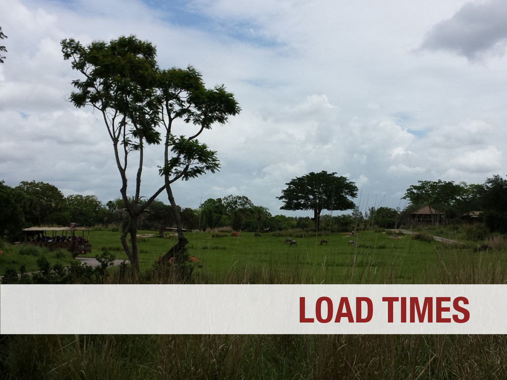 LOAD TIMES