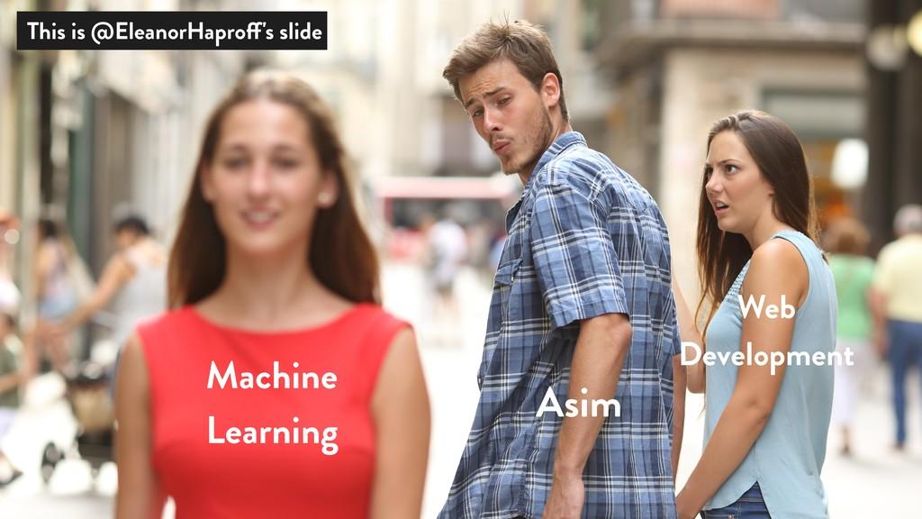 Asim Web Development Machine Learning This is @...