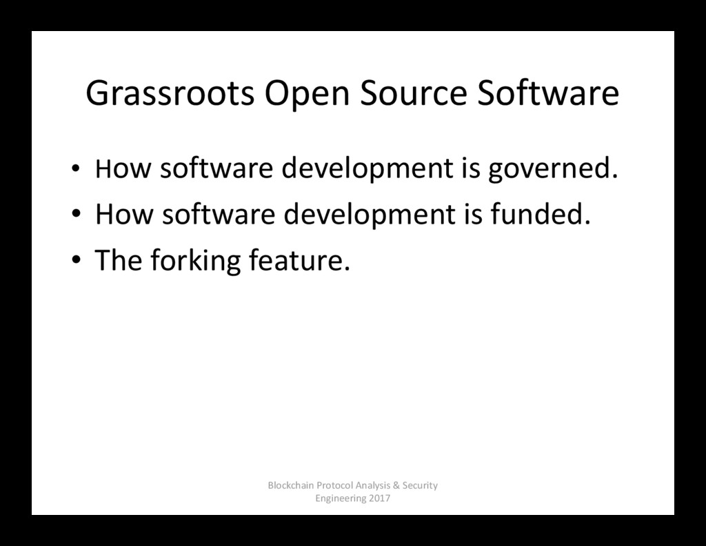 Grassroots Open Source Software • How software ...
