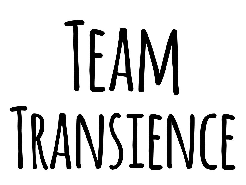 Team Transience