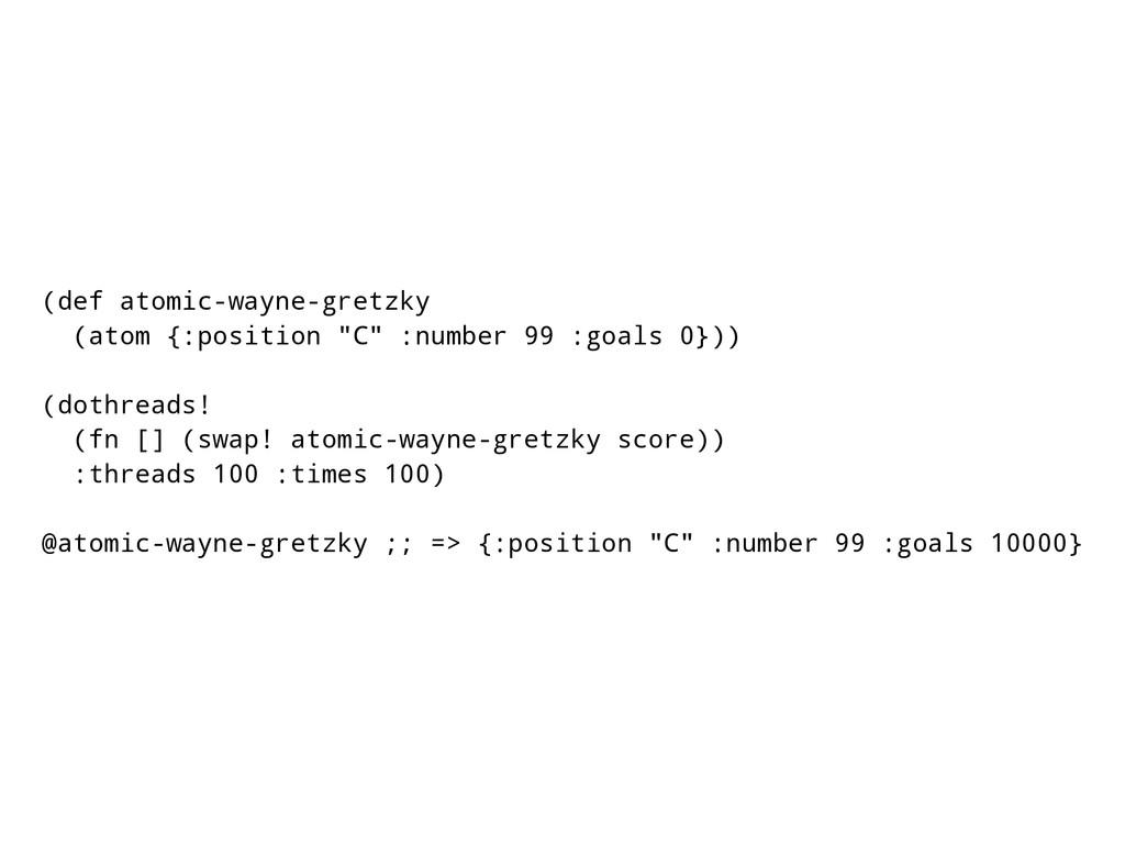 "(def atomic-wayne-gretzky (atom {:position ""C"" ..."
