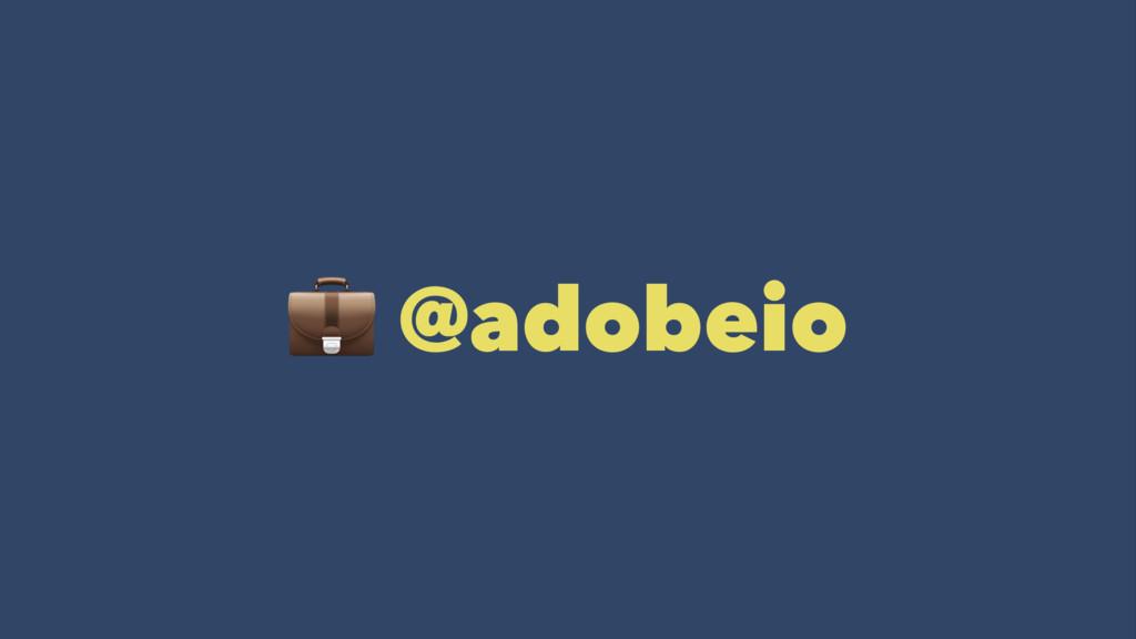 ! @adobeio