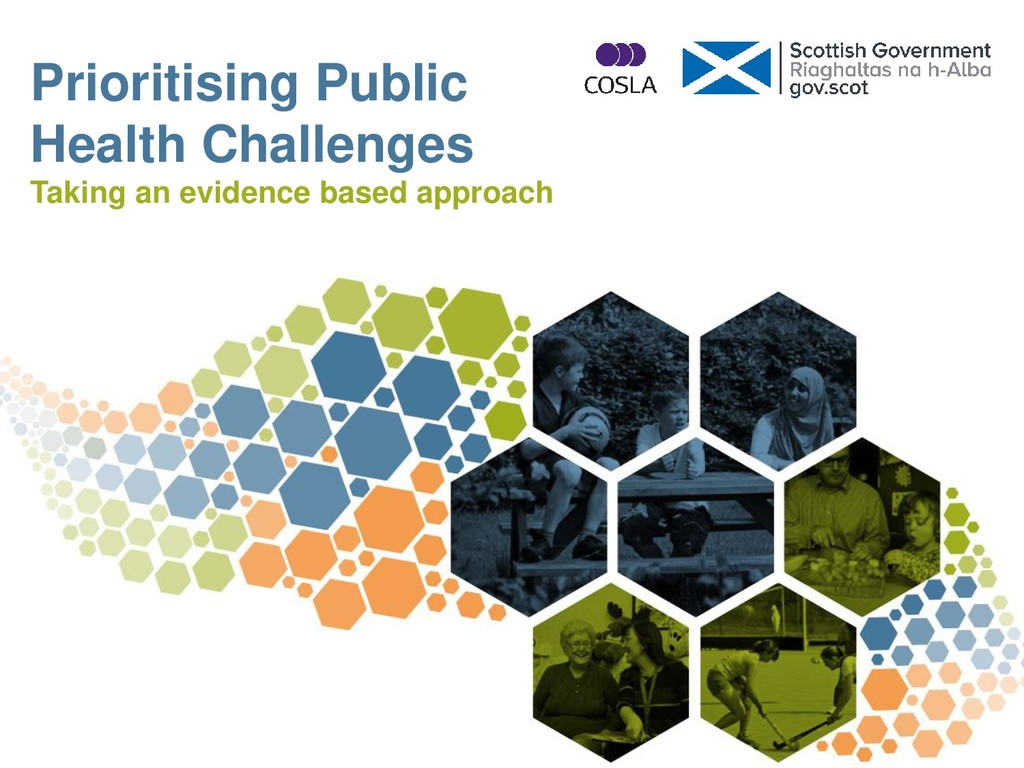 Prioritising Public Health Challenges Taking an...
