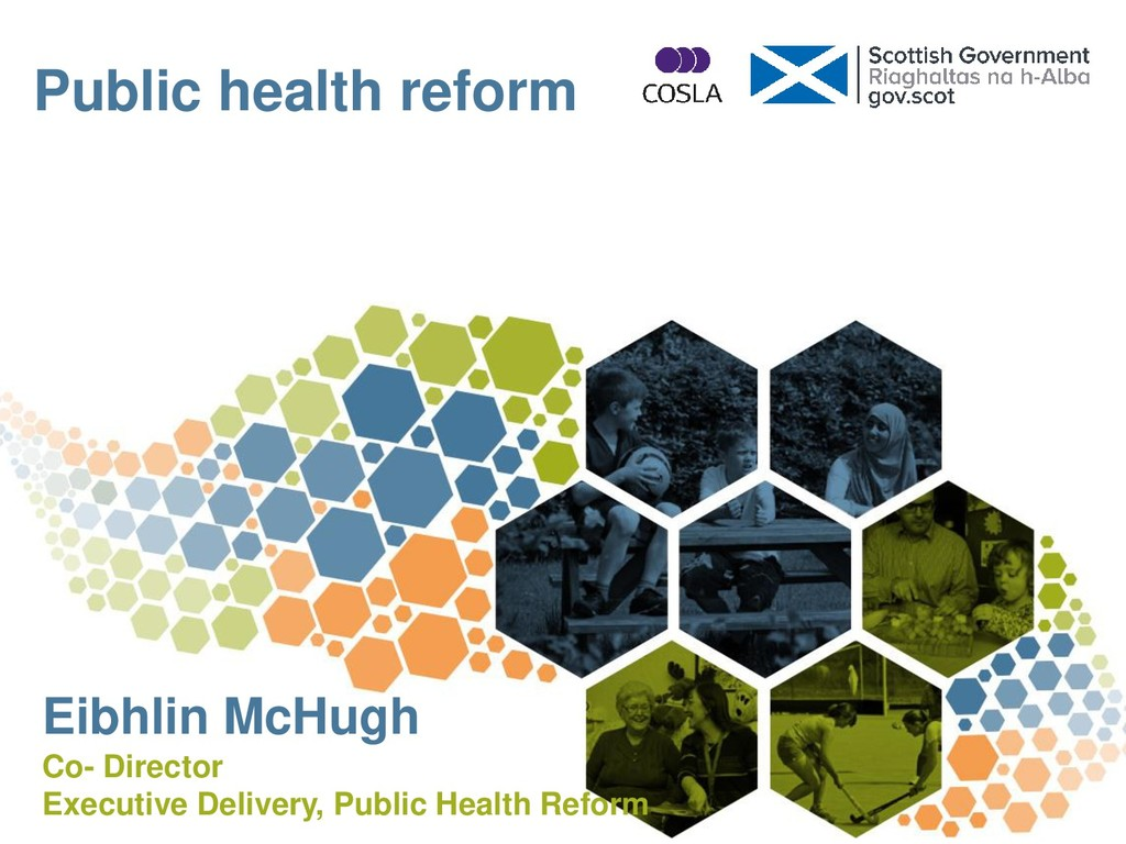 Public health reform Eibhlin McHugh Co- Directo...