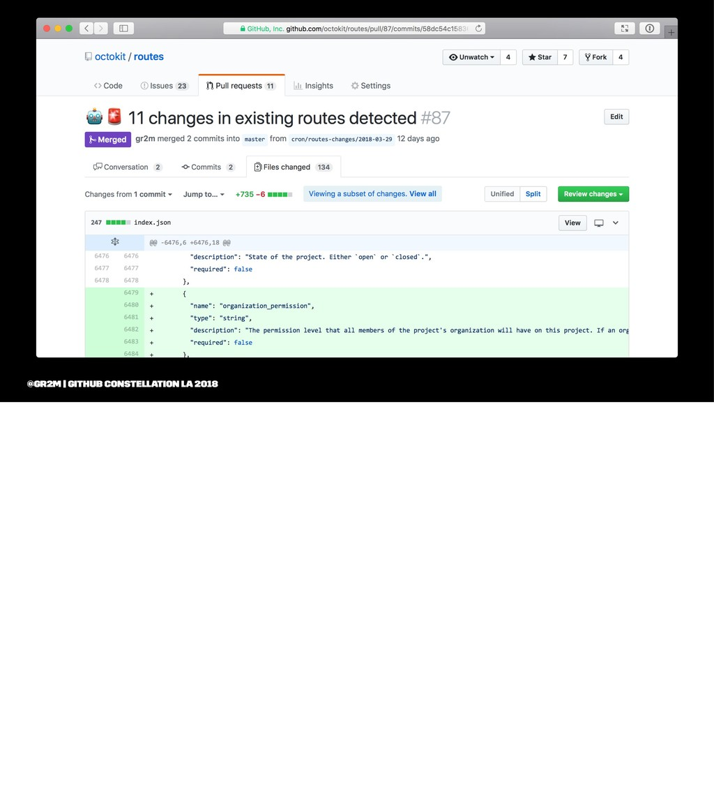 @gr2m | GitHub Constellation LA 2018