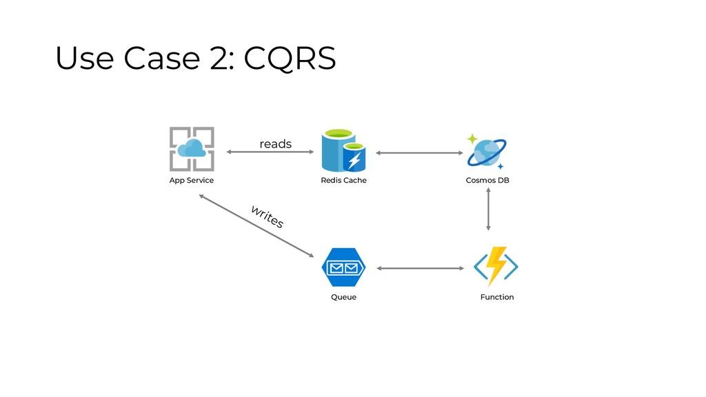 Function App Service Redis Cache Cosmos DB Queu...