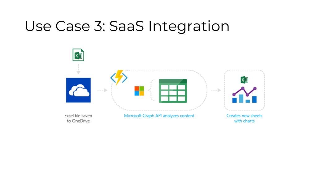 Use Case 3: SaaS Integration