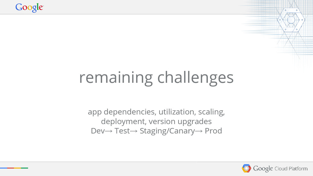 remaining challenges app dependencies, utilizat...