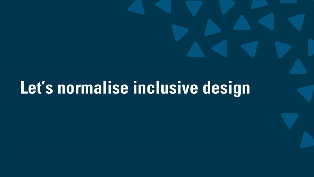 wearesigma.com @wearesigma Let's normalise incl...