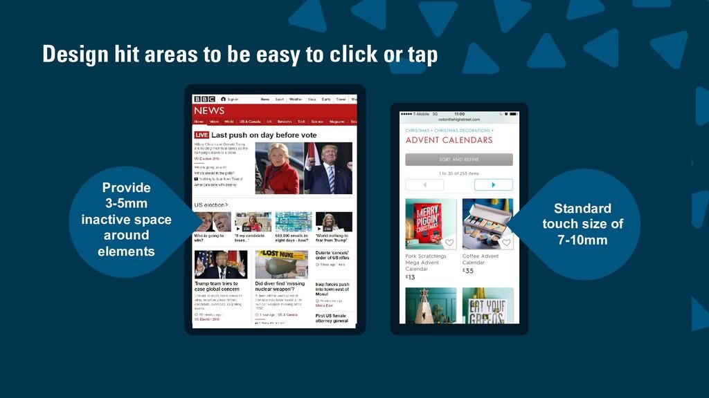 wearesigma.com @wearesigma Standard touch size ...