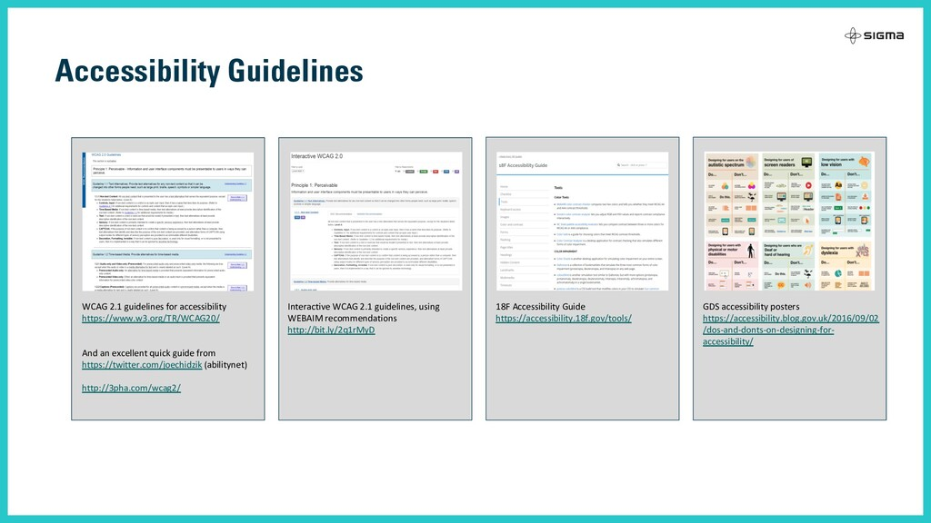 Accessibility Guidelines WCAG 2.1 guidelines fo...