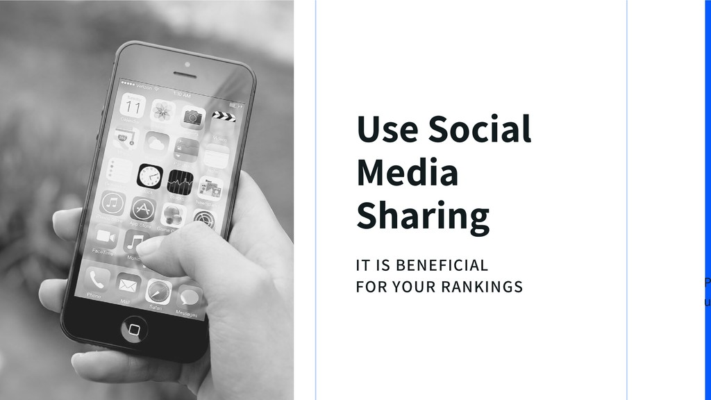 IT IS BENEFICIAL FOR YOUR RANKINGS Use Social M...
