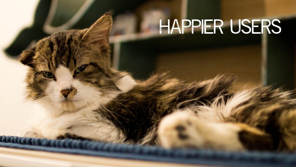 happier users