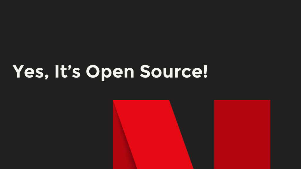 Yes, It's Open Source!
