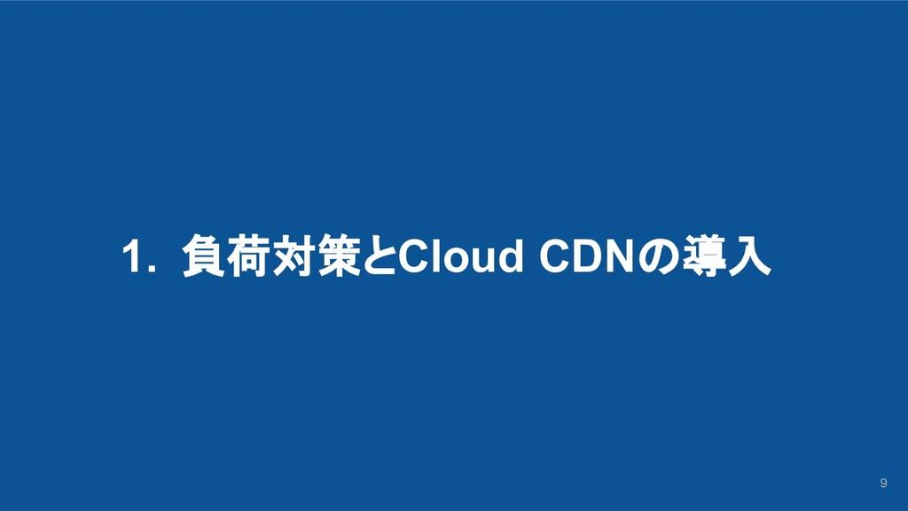 1. 負荷対策とCloud CDNの導入 9