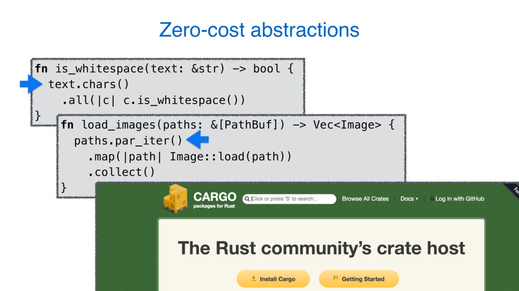 13 Zero-cost abstractions fn is_whitespace(text...