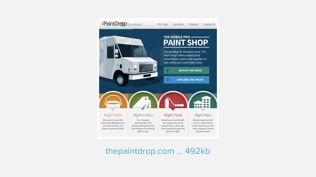 thepaintdrop.com ... 492kb