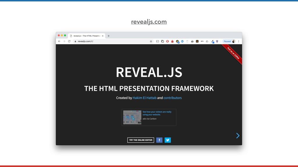 revealjs.com