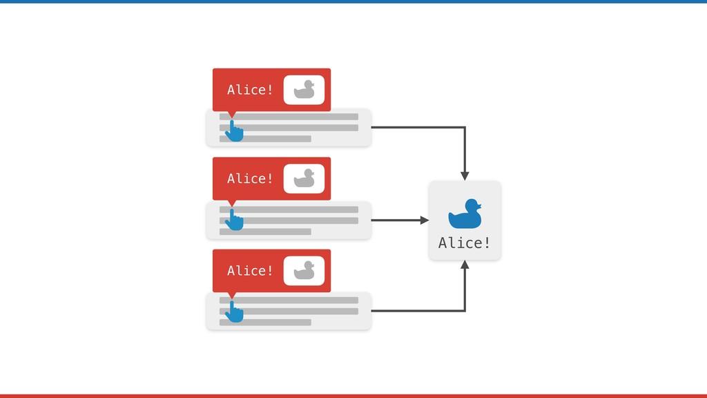 Alice! Alice! Alice! Alice!