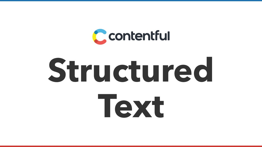 Structured Text