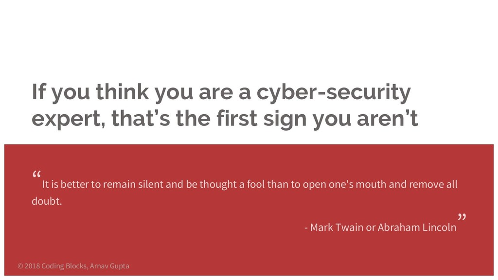 If you think you are a cyber-security expert, t...