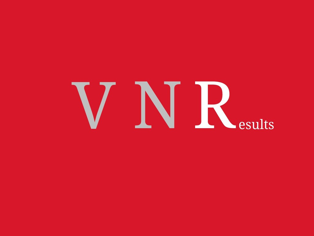 "There's an exception to ""VNR."" Well, maybe just..."