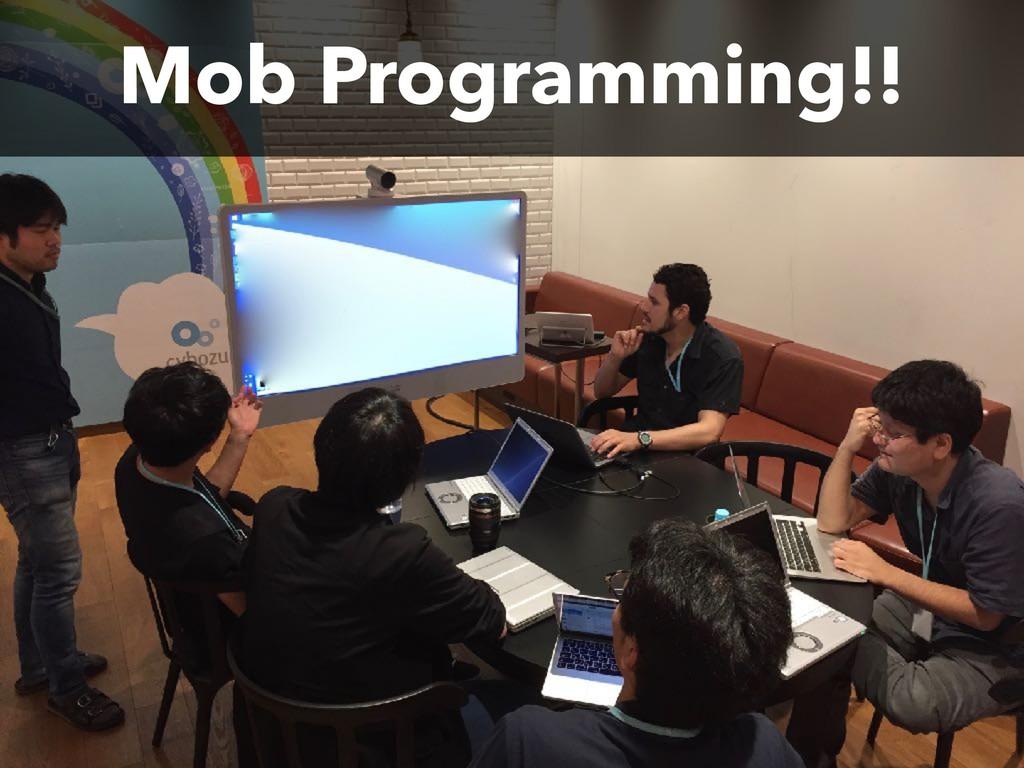 Mob Programming!!