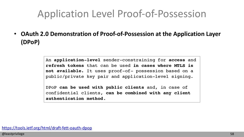 58 @leastprivilege Application Level Proof-of-P...