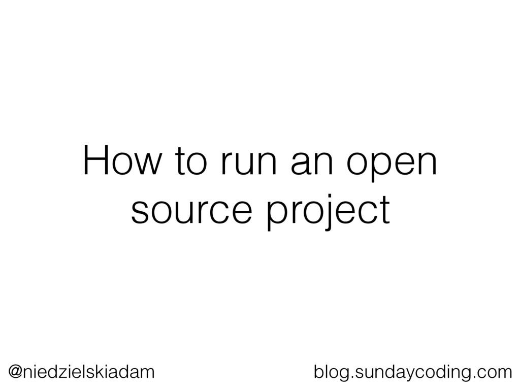 @niedzielskiadam blog.sundaycoding.com How to r...