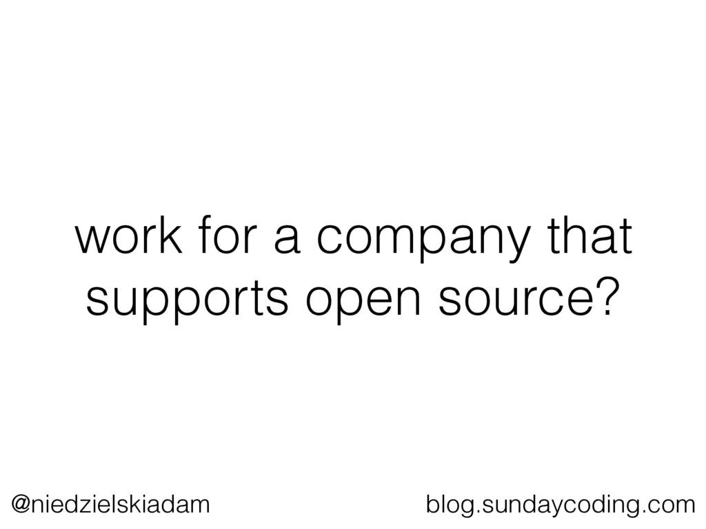 @niedzielskiadam blog.sundaycoding.com work for...
