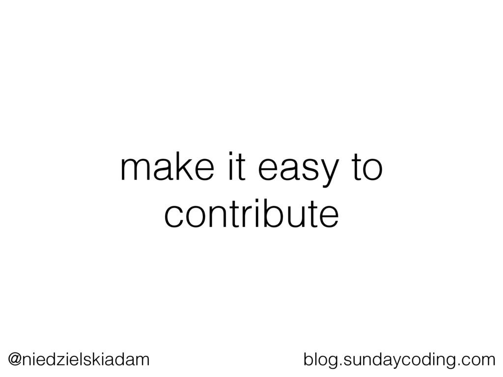 @niedzielskiadam blog.sundaycoding.com make it ...