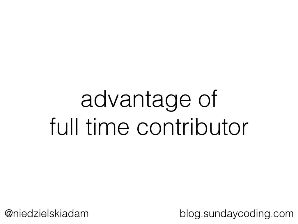 @niedzielskiadam blog.sundaycoding.com advantag...