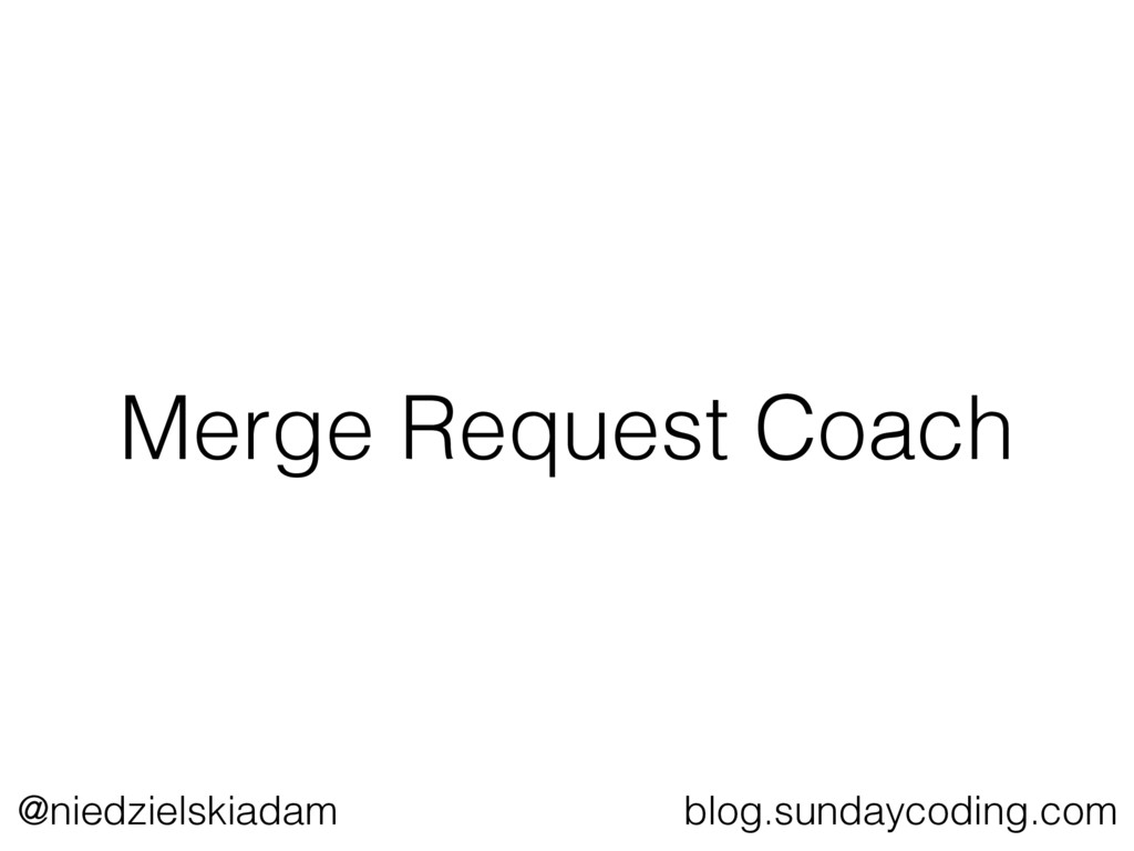 @niedzielskiadam blog.sundaycoding.com Merge Re...