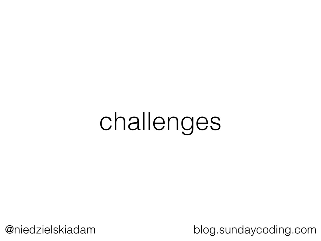 @niedzielskiadam blog.sundaycoding.com challeng...