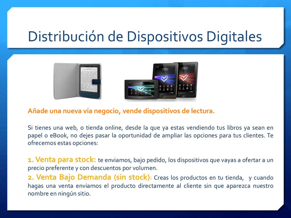 Distribución de Dispositivos Digitales...