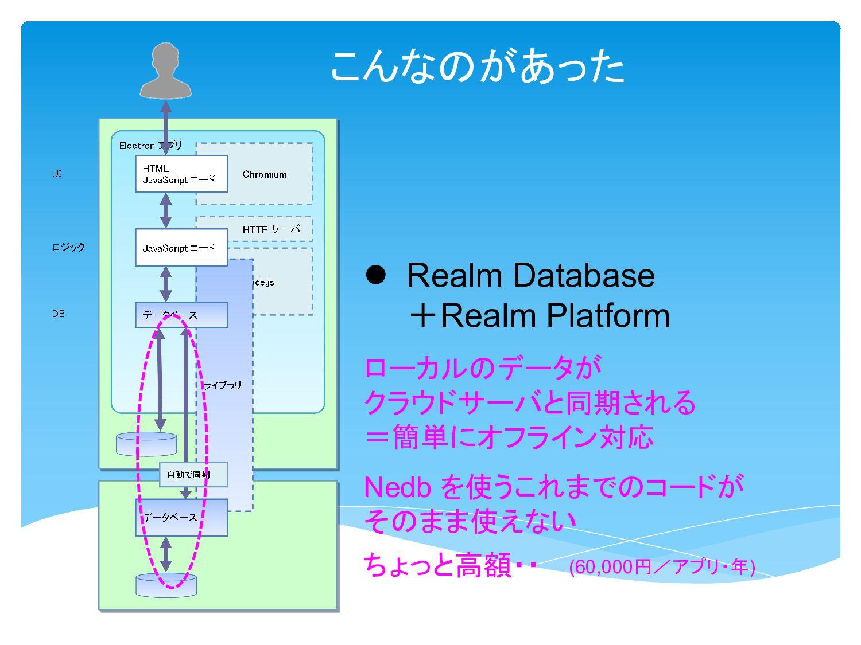 こんなのがあった l Firestore on Firebase l PouchDB でも、単...