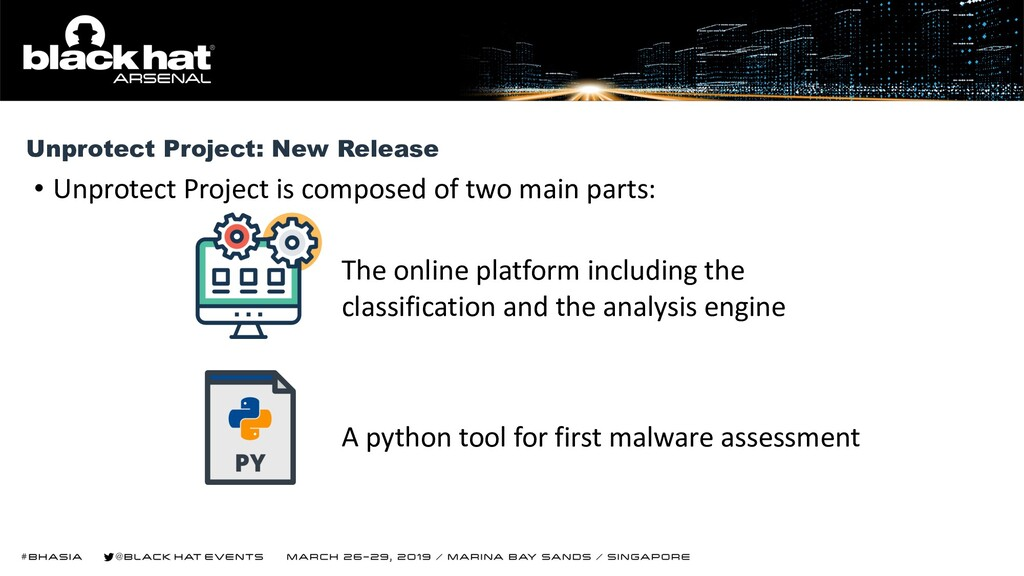 • Unprotect Project is composed of two main par...