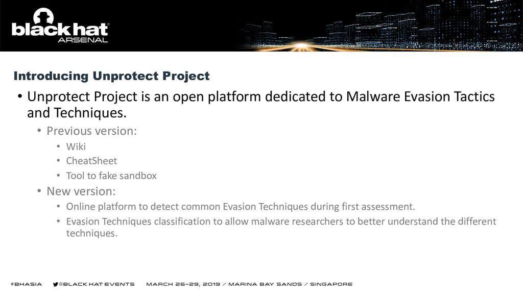 • Unprotect Project is an open platform dedicat...