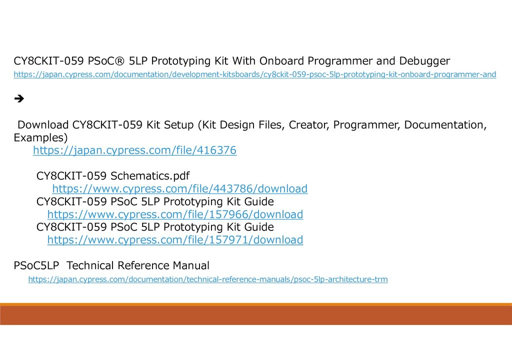 CY8CKIT-059 PSoC® 5LP Prototyping Kit With Onbo...