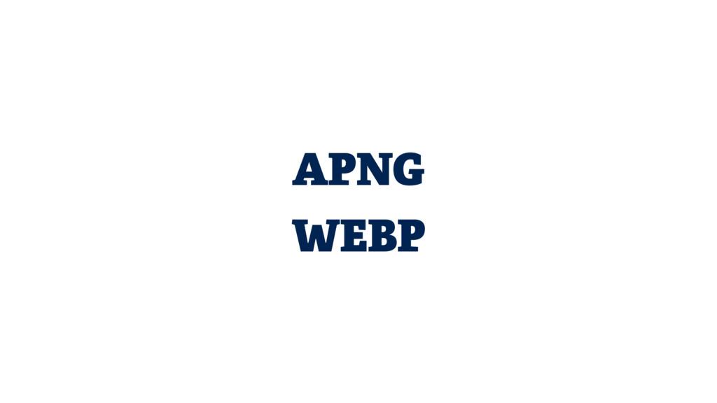 APNG WEBP