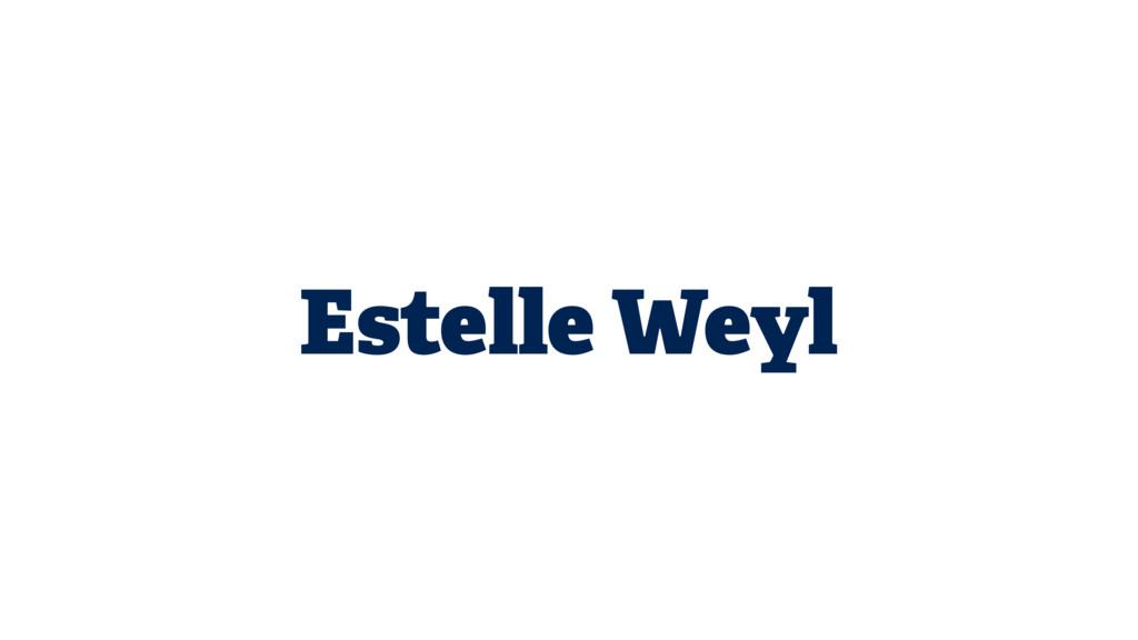 Estelle Weyl
