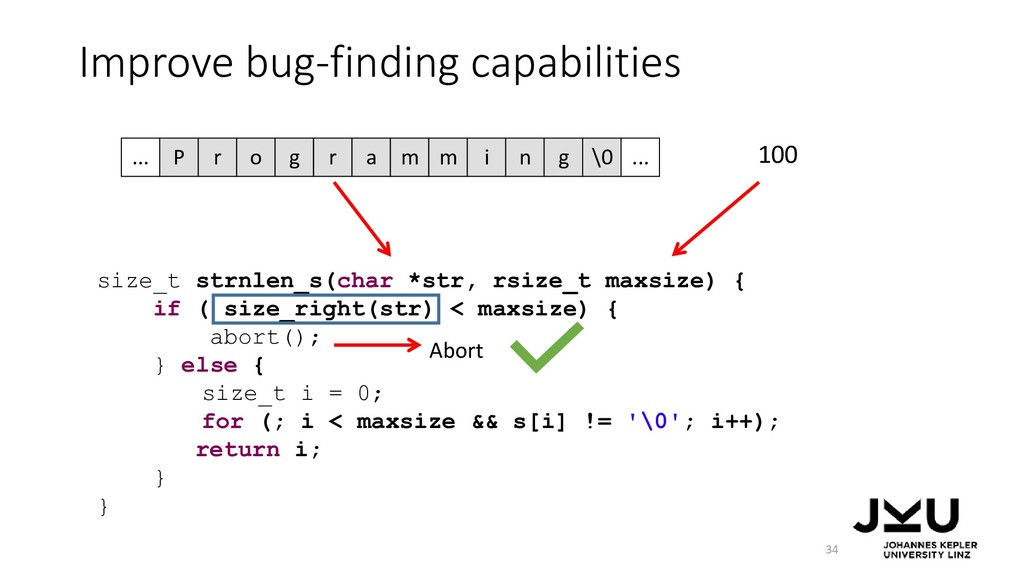 Improve bug-finding capabilities 34 size_t strn...