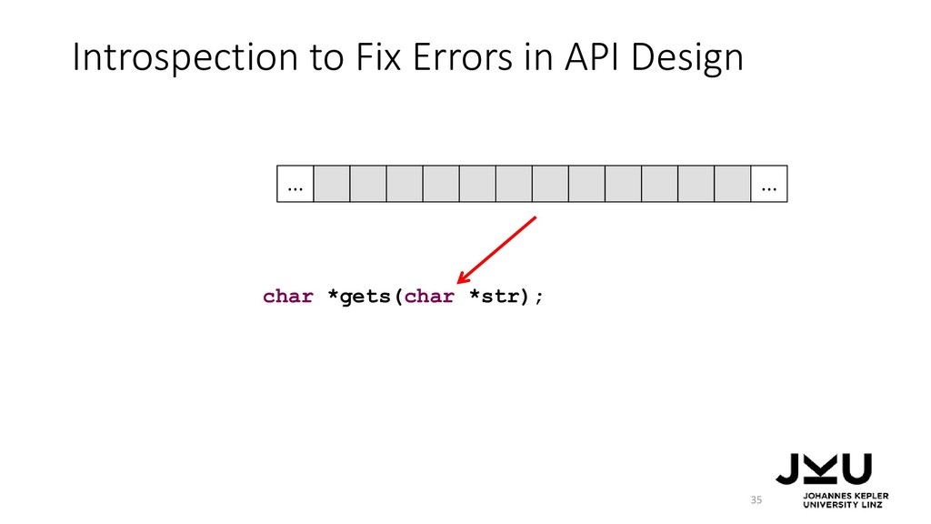 Introspection to Fix Errors in API Design 35 ch...